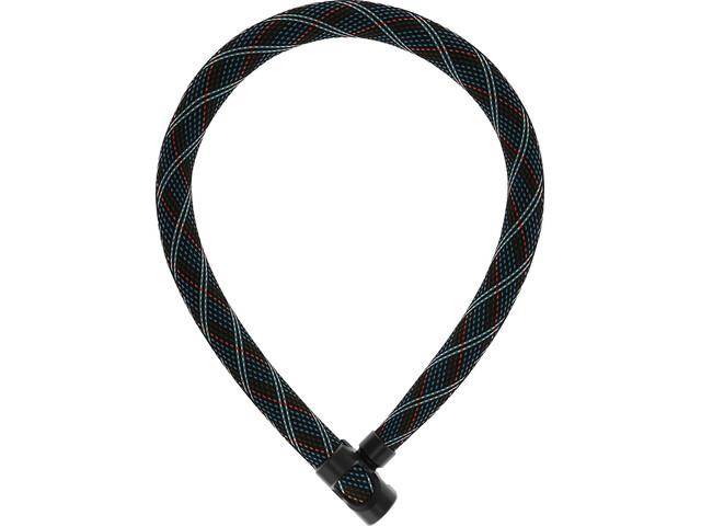 ABUS IvyTex 7210 Chain Lock crossing grey